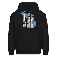 Hoodies ~ Men's Hoodie ~ Retro Up North