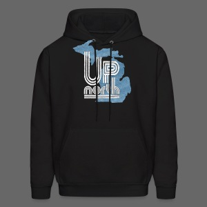 Retro Up North - Men's Hoodie