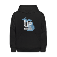 Sweatshirts ~ Kids' Hoodie ~ Retro Up North