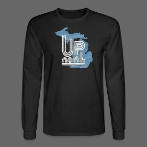 Retro Up North - Men's Long Sleeve T-Shirt