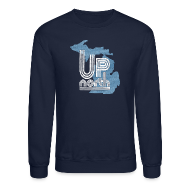 Long Sleeve Shirts ~ Crewneck Sweatshirt ~ Retro Up North