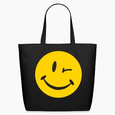 Blinking Smiley Bags