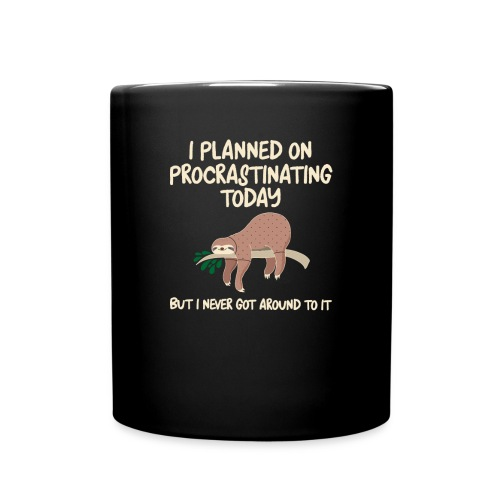 ProcrastSlothMug - Full Color Mug