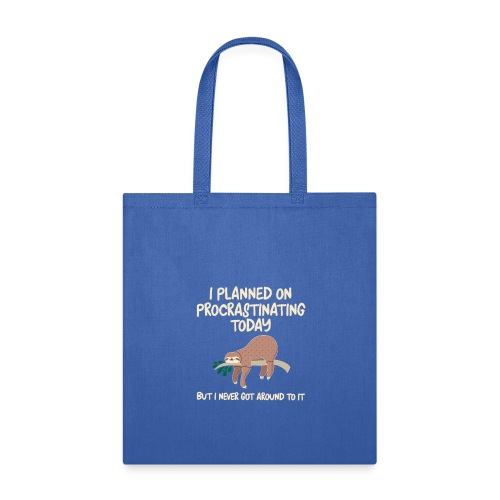 ProcrastSlothToteBag - Tote Bag