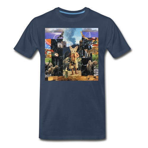 Sagrada Familia  - Men's Premium T-Shirt