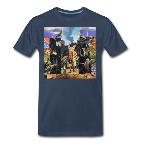 Sagrada Familia  - Men's Premium T-Shirt