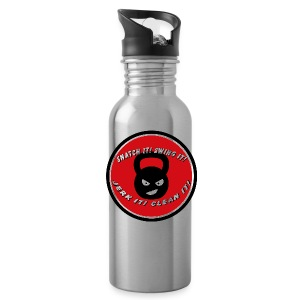 600ml Kettlebell Training Water Bottle - Water Bottle