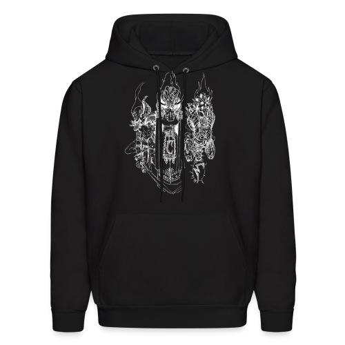 Almsivi (White) - Sweatshirt - Men's Hoodie