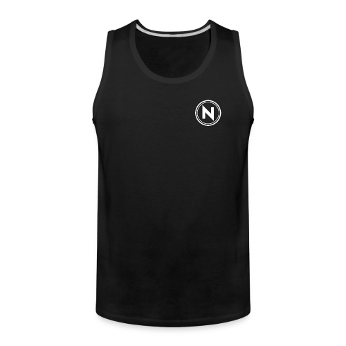 N Patch Tank (Black) - Men's Premium Tank