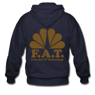 Zip Hoodies & Jackets ~ Men's Zip Hoodie ~ FAT classic