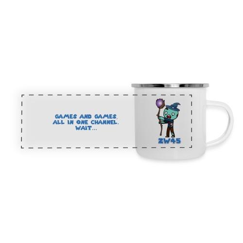 zombiewizard45 Camping Mug - Panoramic Camper Mug