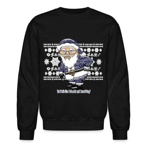 Mocking Santa Sweatshirt (Blue Edition) - Crewneck Sweatshirt