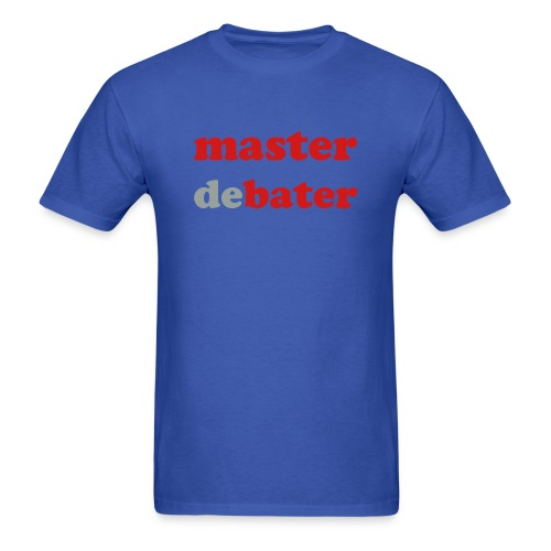 MaterDeBater - Men's T-Shirt