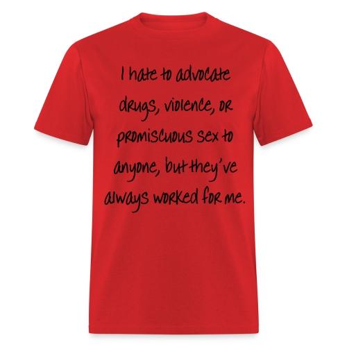 Works for me - Men's T-Shirt