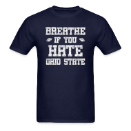 T-Shirts ~ Men's T-Shirt ~ Breathe If You Severely Dislike That One Place
