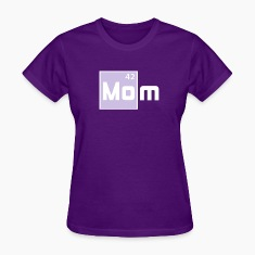 MOM - Mother Periodic Elements Design T-Shirt FW