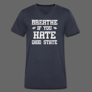 Breathe If You Severely Dislike That One Place - Men's V-Neck T-Shirt by Canvas