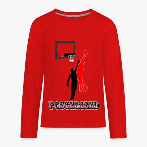 Posterized - Kids' Premium Long Sleeve T-Shirt