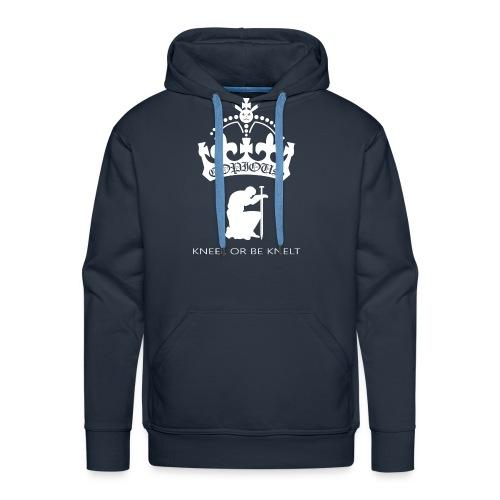Kneel Or be Knelt Hoodie - Men's Premium Hoodie