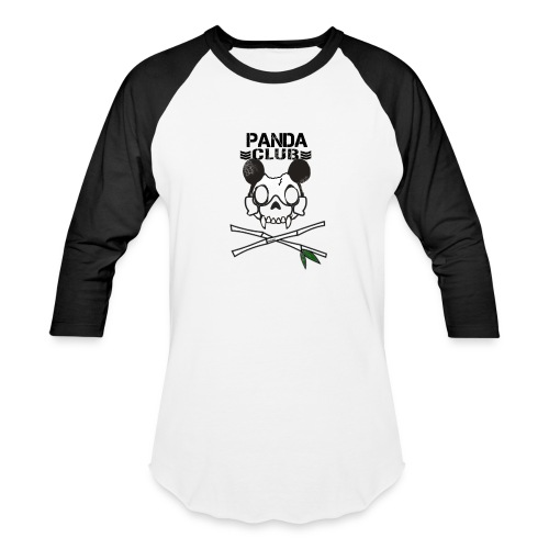 Way2Real Lucha Kliq Panda Club Baseball T-Shirt - Baseball T-Shirt