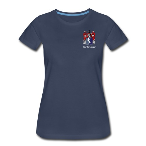 Barrette Family Female - Women's Premium T-Shirt