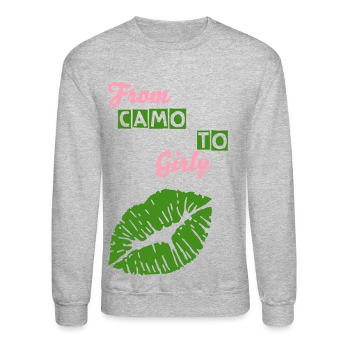 From Camo 2 Girly - Crewneck Sweatshirt
