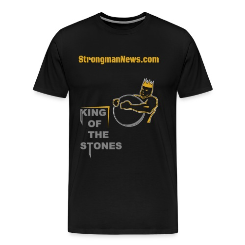 King Of The Stones - Men's Premium T-Shirt