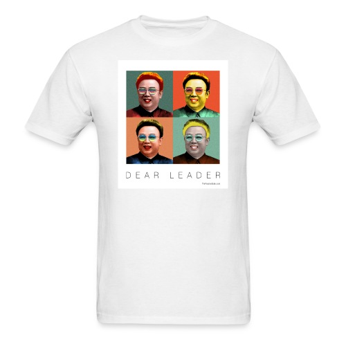 Kim Jong Il as Marilyn Monroe - Men's T-Shirt