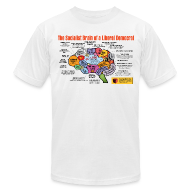 T-Shirts ~ Men's T-Shirt by American Apparel ~ Article 11283344