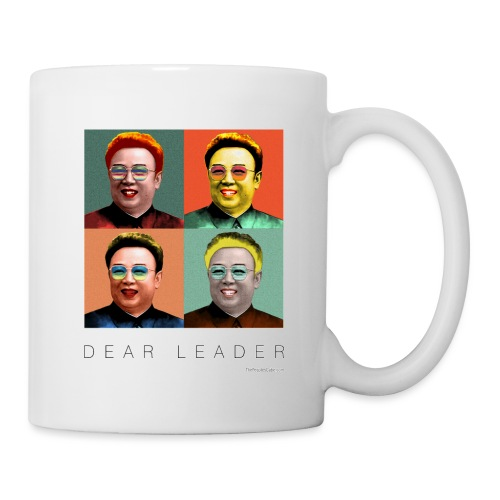 Kim Jong Il as Marilyn Monroe - Coffee/Tea Mug