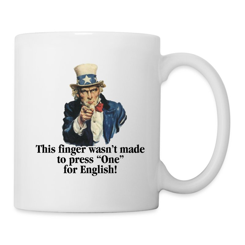 Uncle Sam - Finger - Coffee/Tea Mug
