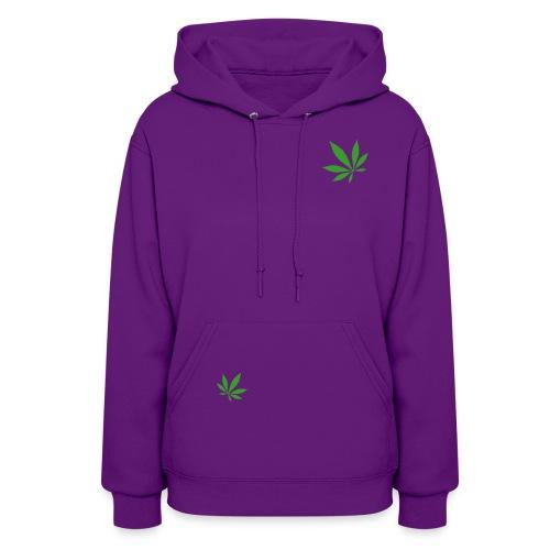Women's Hemp Purple Hoodie - Women's Hoodie