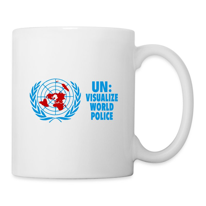 UN: Visualize World Police - Coffee/Tea Mug