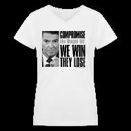 Women's T-Shirts ~ Women's V-Neck T-Shirt ~ Article 11284242
