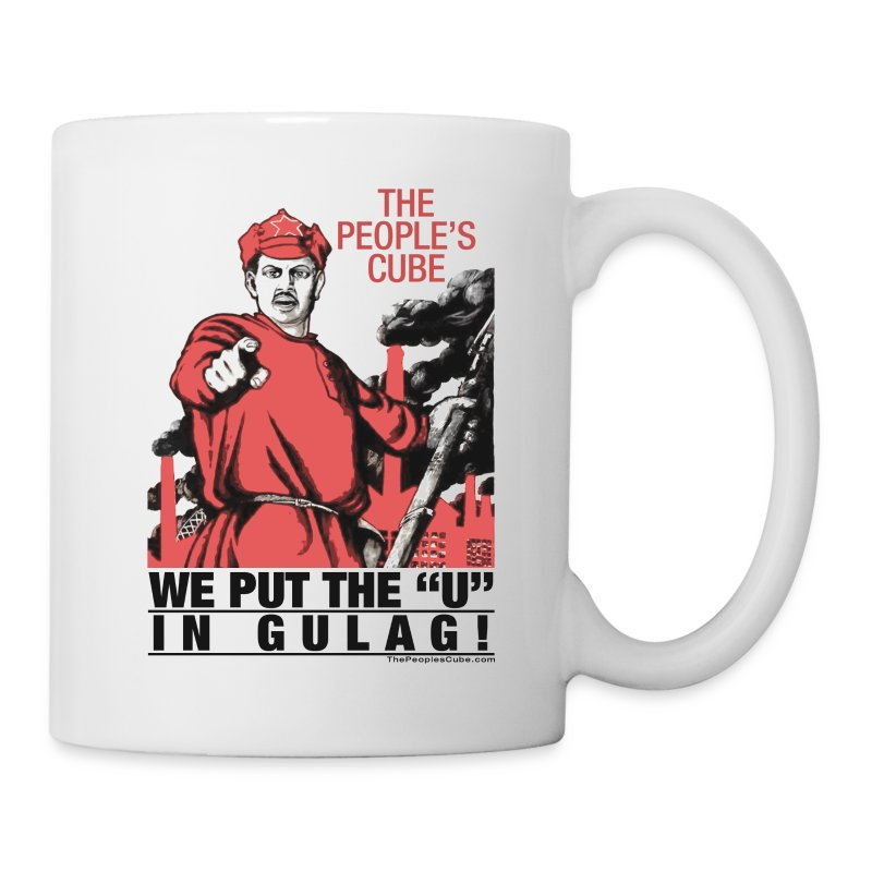 We put the U in gulag - Coffee/Tea Mug
