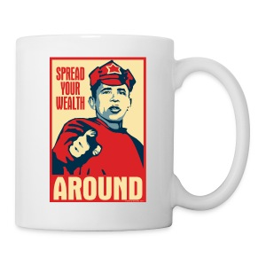 Spread your wealth around - mug - Coffee/Tea Mug
