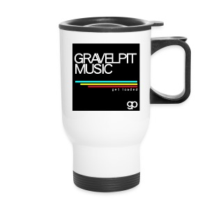 Gravelpit Music - Black - Travel Mug