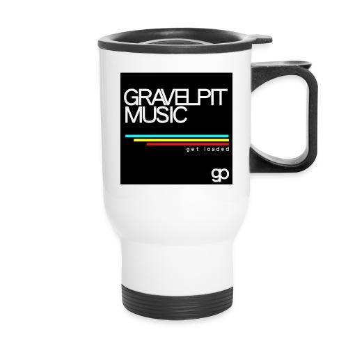 Gravelpit Music - Black - Travel Mug