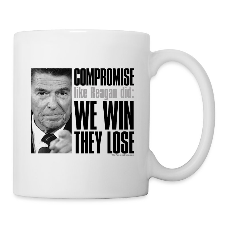 Reagan on Compromise - Coffee/Tea Mug