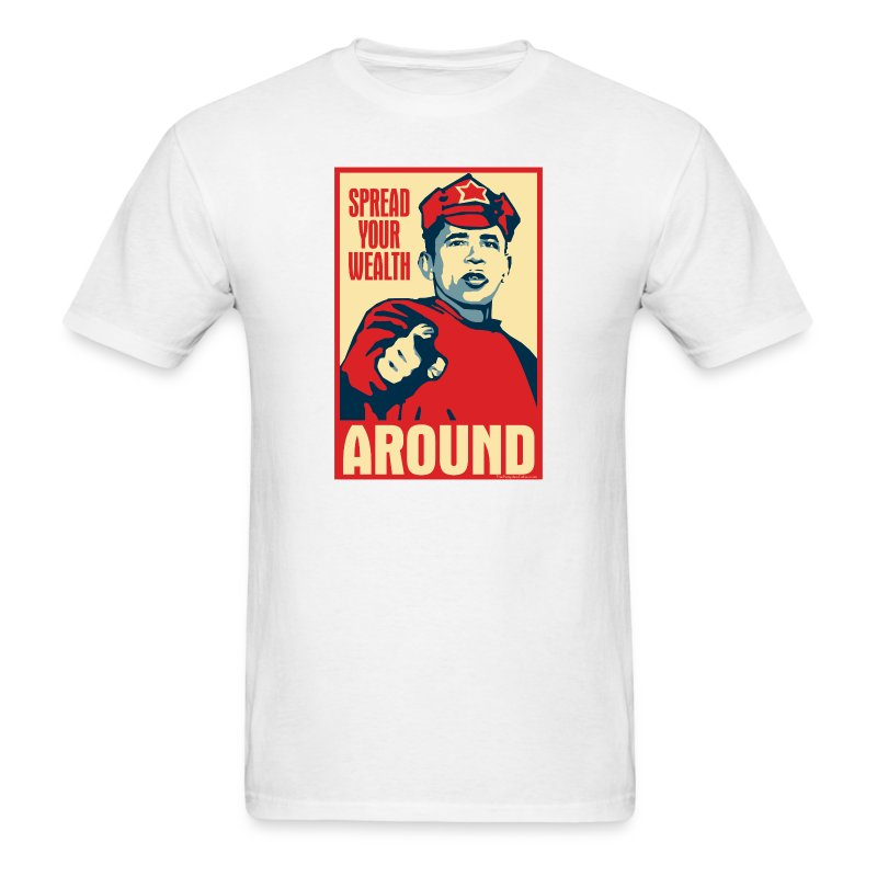 Obama - Red Army Soldier - Men's T-Shirt