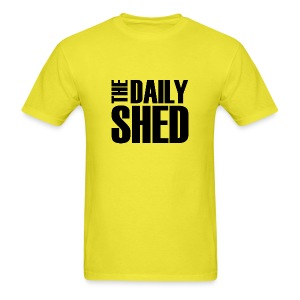 The Daily Shed - Black - Men's T-Shirt