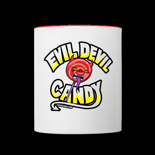 Evil Candy Mug - Contrast Coffee Mug