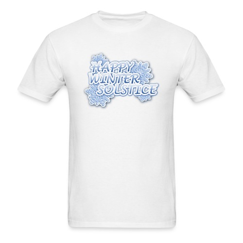 Happy Winter Solstice! - Men's T-Shirt