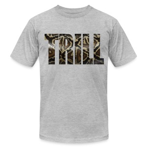 Trill - Snake Skin - Men's T-Shirt by American Apparel