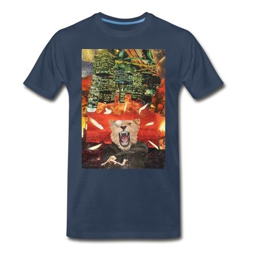 The Rulers Back  - Men's Premium T-Shirt