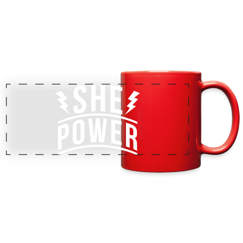 She Power Mugs & Drinkware - Full Color Panoramic Mug