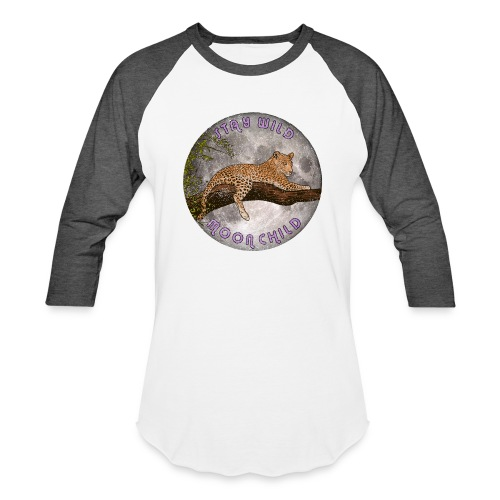 Stay Wild Moon Child Ladies Raglan - Baseball T-Shirt
