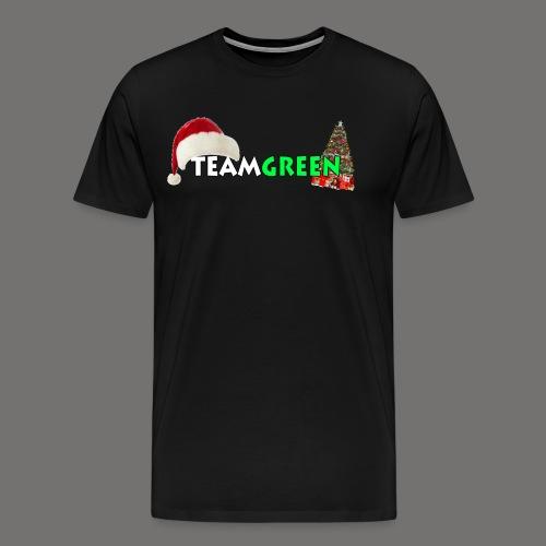 TeamGreen Christmas - Men's Premium T-Shirt