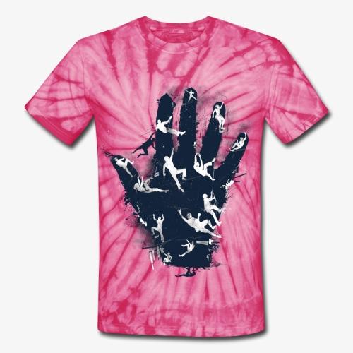 UNCHARTED DYE SHIRT (CLIMBING) - Unisex Tie Dye T-Shirt
