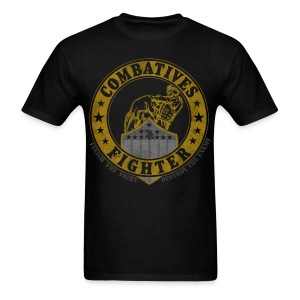 Combatives Fighter Patch - Men's T-Shirt